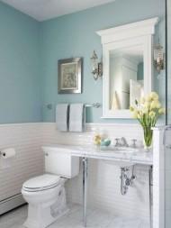 Những cách giúp phòng tắm nới rộng không gian