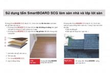 SCG dùng làm sàn